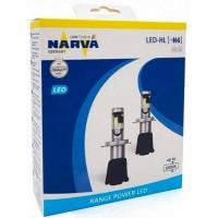 Светодиодные лампы NARVA Range Power LED 6000K H7, H4, H11, HB4, HB3, HIR2