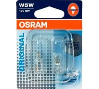 Комплект ламп Osram Original Line W5W 12v 2825-02b