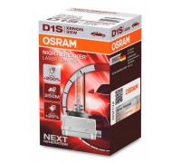 Ксеноновая лампа D1S Osram Night Breaker Laser Xenarc +200% 66140xnl