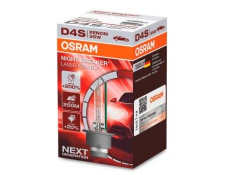 Ксеноновая лампа D4S Osram Night Breaker Laser Xenarc +200% 66440xnl