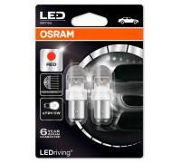 Светодиодная лампа OSRAM LEDriving - Premium P21/5W 12v красная 1557R-02B