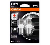 Светодиодная лампа OSRAM LEDriving - Premium P21W 12v красная 7556R-02B