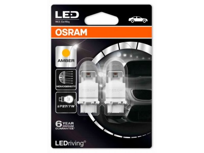 Светодиодная лампа OSRAM LEDriving - Premium P27/7W 3157 12v желтая 3557YE-02B