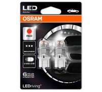 Светодиодная лампа OSRAM LEDriving - Premium W21/5W 12v красная 7915R-02B