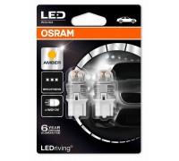 Светодиодная лампа OSRAM LEDriving - Premium W21W 12v желтая 7905YE-02B