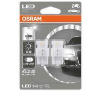 Светодиодная лампа OSRAM LEDriving SL - Standart W21/5W 12v белая 7716CW-02B