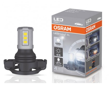 Светодиодная лампа OSRAM LEDriving - Standart PS19W 12v белая 3301CW