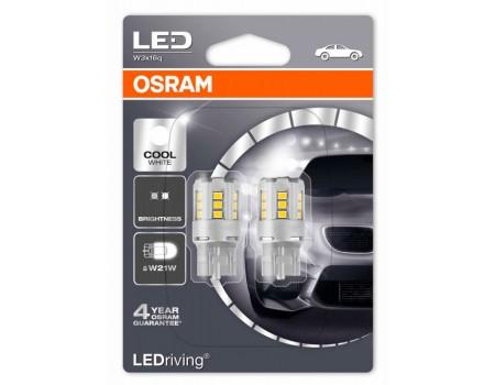 Светодиодная лампа OSRAM LEDriving - Standart W21W 12v белая 7705CW-02B