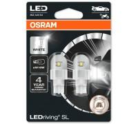 Светодиодная лампа OSRAM LEDriving - Standart SL W16W 12v белая 921DWP-02B