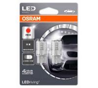Светодиодная лампа OSRAM LEDriving - Standart W21/5W 12v красная 7715R-02B