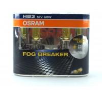 Галогенные лампы Osram Fog Breaker HB3 12v 60w 9005fbrduobox