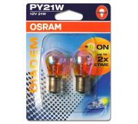 Лампа поворотника Osram PY21W 12v Diadem 7507lda02b