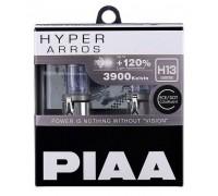 Галогенные лампы PIAA Hyper Arros H13 (9008) +120% 3900k 65/ 55w 12v HE-907