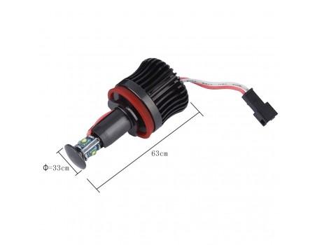 LED Маркер в ангельские глазки BMW 20w H8 для E70/ E71/ E82/ E84/ E90/ E92/ E93