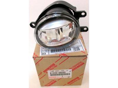 Фара противотуманная Toyota RAV4 III (06-09; 10-12; 15-19) светодиодная LED левая 81220-48050, 81220-48051