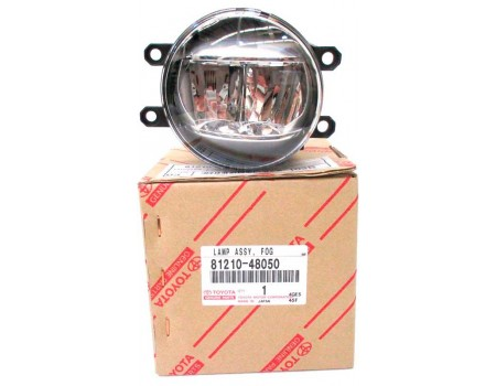 Фара противотуманная Toyota Auris I (06-12); II (13-) светодиодная LED правая 81210-48050, 81210-48051