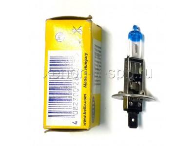 Галогенные лампы Hella Powerlight +90% H1 12v 55w 8GH002089-531