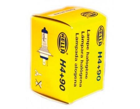 Галогенные лампы Hella Powerlight +90% H4 12v 60/55w 8gj002525-531