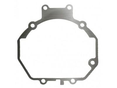 Переходные рамки на Subaru Legacy V (BM) дорестайлинг и рестайлинг (2009- 2014 г.) для линз Hella 3R