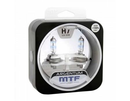 Галогенные лампы MTF light Argentum +130% H7 55W (комплект)