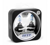 Галогенные лампы MTF light Argentum +130% HB3 65W (комплект)