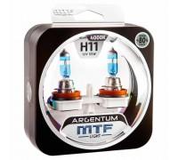 Галогенные лампы MTF light Argentum +80% H11 55W (комплект)