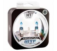 Галогенные лампы MTF light Argentum +80% H1 55W (комплект)