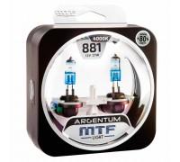 Галогенные лампы MTF light Argentum +80% H27/881 27W (комплект)