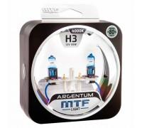 Галогенные лампы MTF light Argentum +80% H3 55W (комплект)