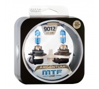 Галогенные лампы MTF light Argentum +80% HIR2 9012 55W (комплект)