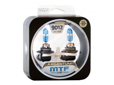 Галогенные лампы MTF light Argentum +80% HIR2 9012 (комплект)