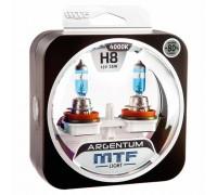 Галогенные лампы MTF light Argentum +80% H8 35W (комплект)