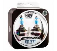 Галогенные лампы MTF light Argentum +80% HB4 55W (комплект)