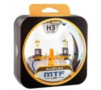 Галогенные лампы MTF light Aurum H3 (комплект)
