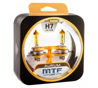 Галогенные лампы MTF light Aurum H7 (комплект)