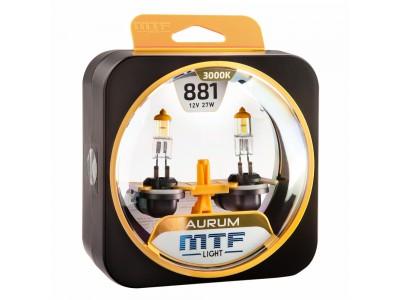 Галогенные лампы MTF light Aurum H27 881 (комплект)