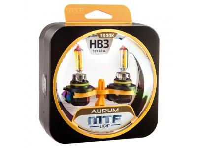 Галогенные лампы MTF light Aurum HB3 (комплект)