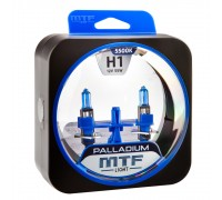Галогенные лампы MTF light Palladium H1 (комплект)