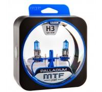 Галогенные лампы MTF light Palladium H3 (комплект)