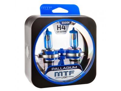 Галогенные лампы MTF light Palladium H4 (комплект)