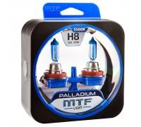 Галогенные лампы MTF light Palladium H8 (комплект)