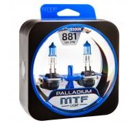 Галогенные лампы MTF light Palladium H27 881 (комплект)