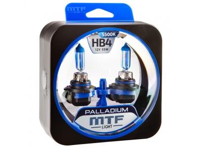 Галогенные лампы MTF light Palladium HB4 (комплект)