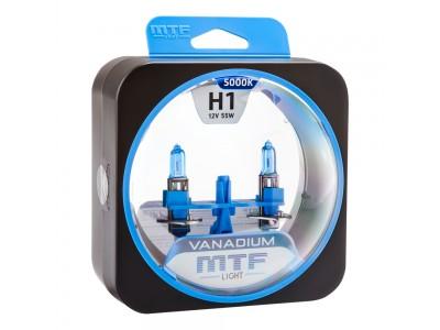 Галогенные лампы MTF light Vanadium H1 (комплект)