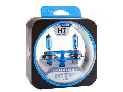 Галогенные лампы MTF light Vanadium H7 (комплект)