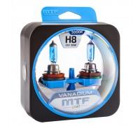 Галогенные лампы MTF light Vanadium H8 (комплект)