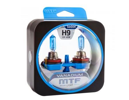 Галогенные лампы MTF light Vanadium H9 (комплект)