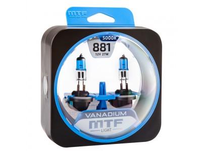 Галогенные лампы MTF light Vanadium H27 881 (комплект)