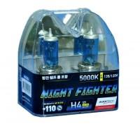 Галогенные лампы Avantech Night Fighter +110% H4 12v 55w 5000k ab5004