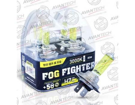 Галогенные лампы Avantech Fog Fighter +50% H7 12v 55w 3000k ab3007